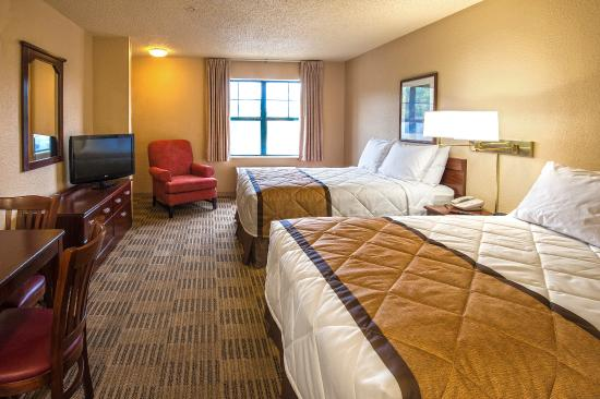 Extended Stay America - Indianapolis - Airport: Studio Suite - 2 Double Beds