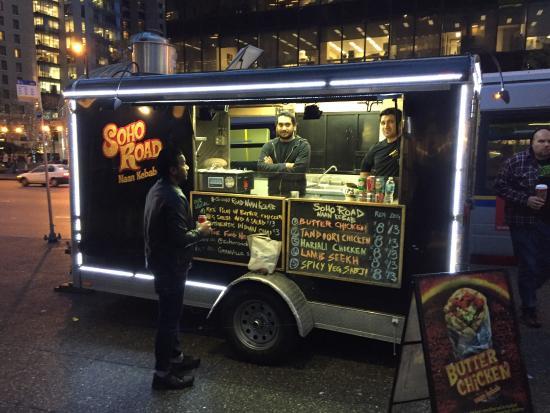 Soho Road Naan Kebab Vancouver Downtown Restaurant Reviews