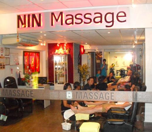Karon Beach, Thailand: Nin Massage