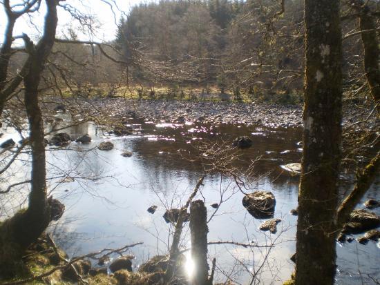 Roybridge, UK: The River Spean at Tulloch