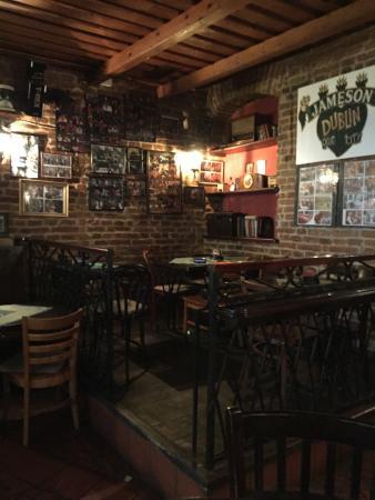 The Irish Times Pub: Inside the pub