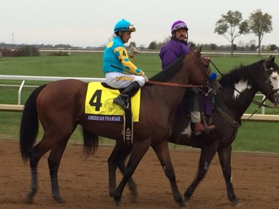 Keeneland : The Champ! This is an amazing Horse/Athlete