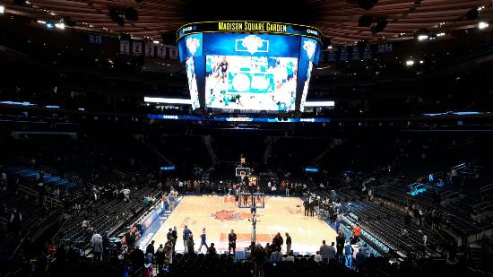 Section 115 Front Row Picture Of Madison Square Garden New York City Tripadvisor