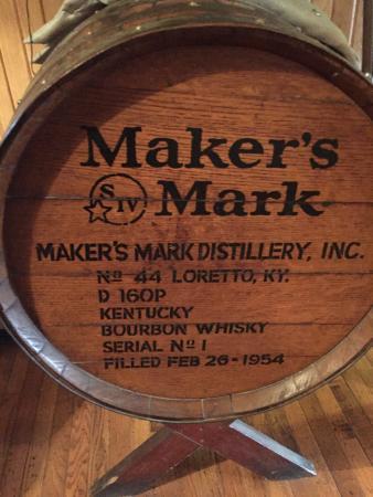 Loretto, KY: Maker's Barrel