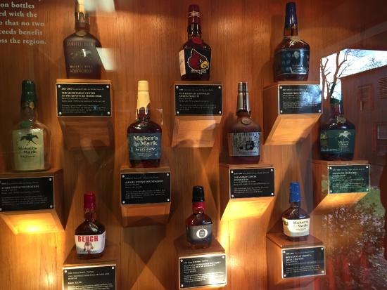 Loretto, เคนตั๊กกี้: Specialty bottles produced over the years