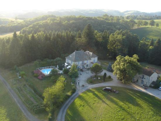 Les Maisons de Concasty: Magie d'un soir: Vol de montgolfière au dessus de Concasty