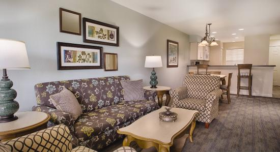 WorldMark Branson Condos: 3 Bedroom Living Room