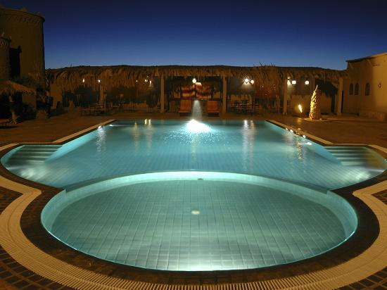 Kasbah Hotel Tombouctou: piscina