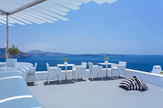Canaves Oia Hotel: Infinity Restaurant