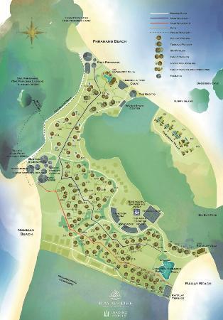 Resort map Picture of Rayavadee Resort Railay Beach TripAdvisor