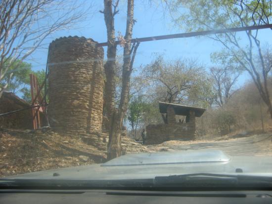 Entrance to Bridge Camp