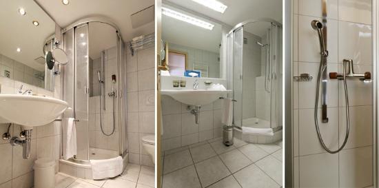 Hotel Dischma: Dusche