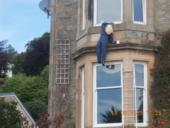 Tighnabruaich, UK: This is one of a number of Dummies displayed on the road nearby,