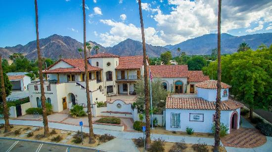 Beautiful shot of the La Quinta Museum