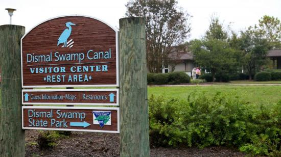 South Mills, Kuzey Carolina: Dismal Swamp Canal Welcome Center