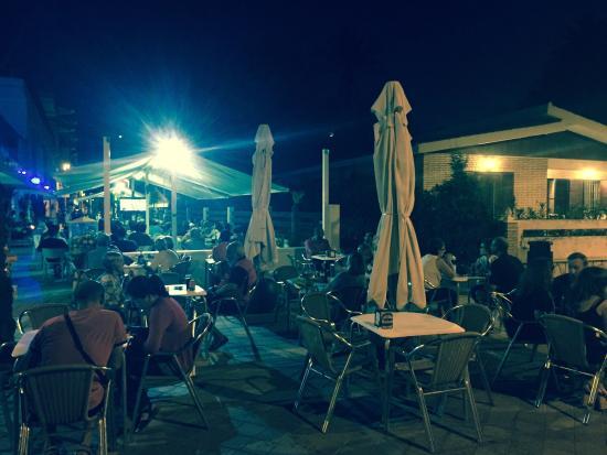 Mar de Cristal, España: Mejor sitio para ver partidos de futbol