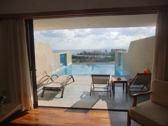 chambre avec piscine privée - Picture of Porto Elounda Golf & Spa ...