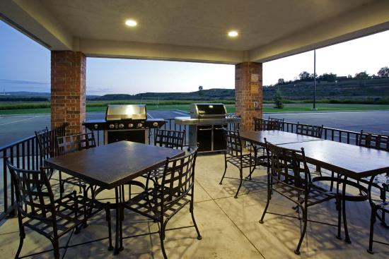 Candlewood Suites Craig-Northwest: Plenty of room to throw a BBQ with friends in Craig, Colorado