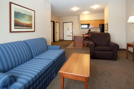 Candlewood Suites Craig-Northwest: Room for everyone with our sofa sleeper