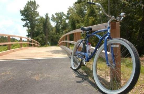 South Mills, Carolina del Norte: Biking Trails