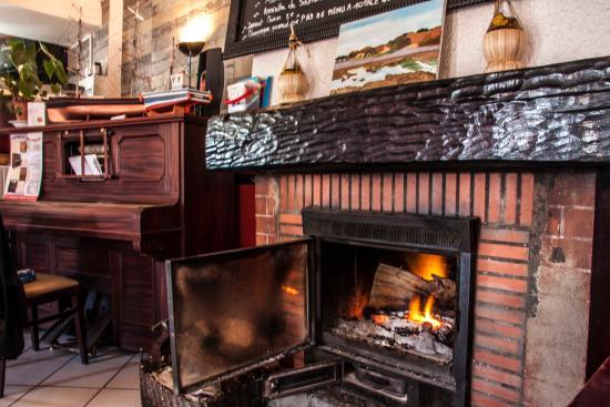 Le Belem : Le feu de cheminée