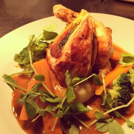 Willaston, UK: Chicken supreme