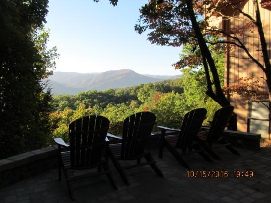 The Foxtrot Bed and Breakfast: View from Deck