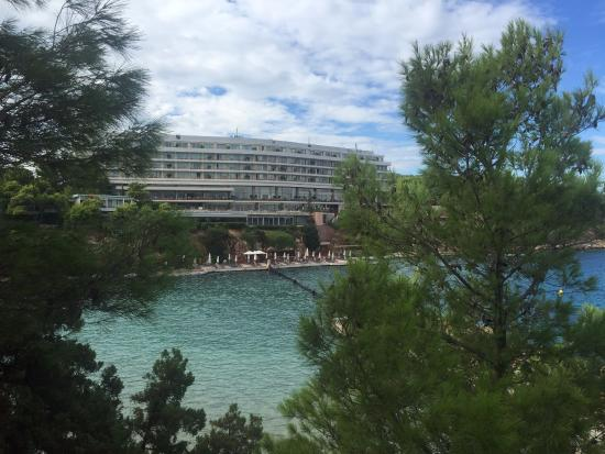 Arion, a Luxury Collection Resort & Spa: View from Matsuhisa across to Arion