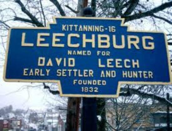 The Old Parsonage Bed & Breakfast: Entrance to Leechburg Borough