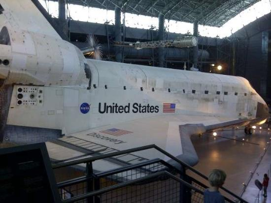space shuttle discovery hazy - photo #5