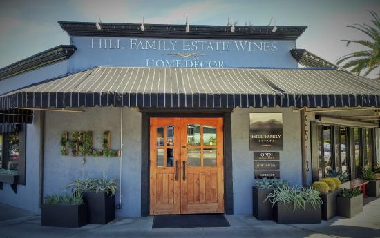 Yountville, CA: Hill Family Estate Tasting Salon
