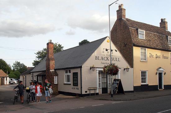 Godmanchester, UK: The Function Room at the Black Bull