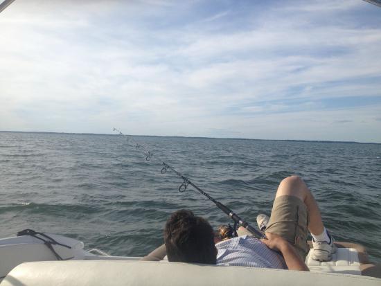 Cutchogue, estado de Nueva York: Fishing in North Fork, Long Island