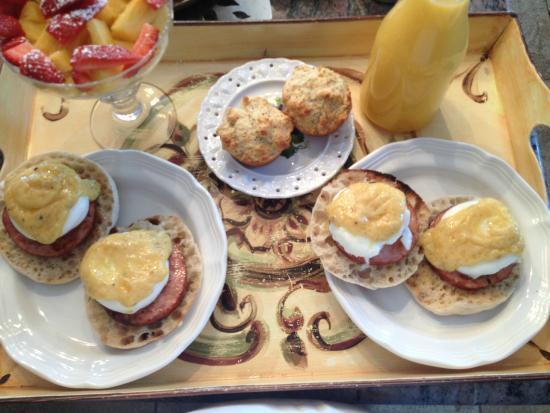 Cutchogue, estado de Nueva York: Breakfast Sannino Style