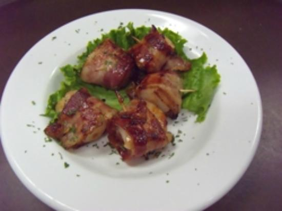 Woodstock, ME: Yummy Bacon wrapped Scallops!