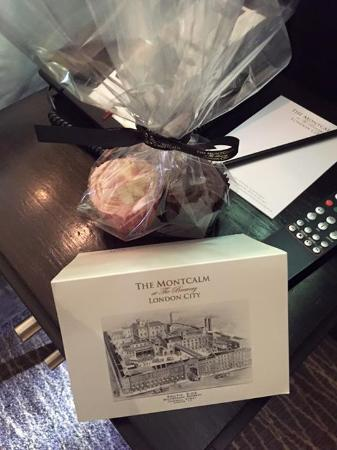 The Montcalm At Brewery London City Birthday Gift