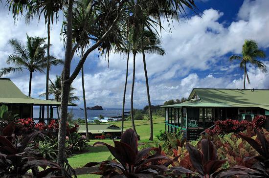 Travaasa Hotel Hana Maui View Of Sea