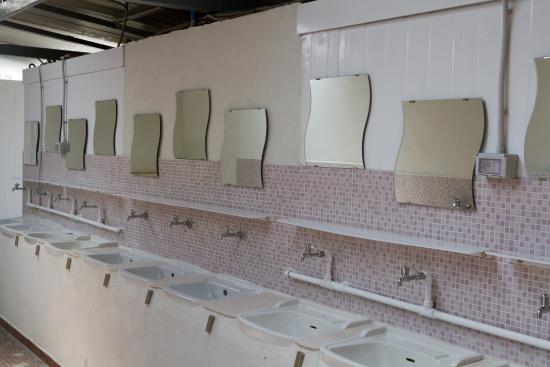 Camping La Focetta Sicula: Servizi igienici pubblici con allaccio corrente elettrica