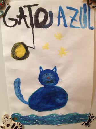 El Gato Azul: Regalo de un cliente Muy joven!! Gracias Elías