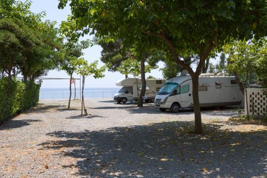 Camping La Focetta Sicula: Piazzole Camper e Caravan