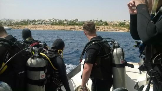 Sinai Dive Club: здесь я и Дана Тараканова