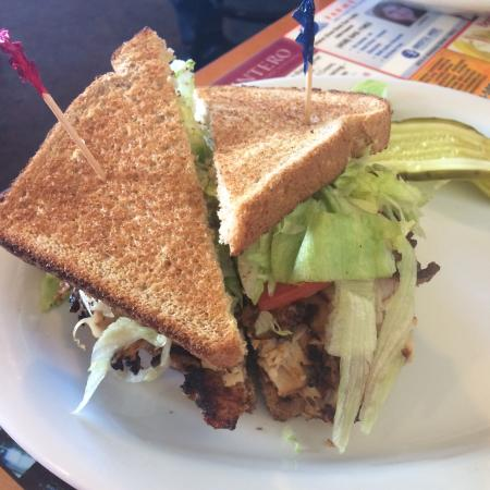 OD's Kitchen: Lunch spinach salad and sandwiches