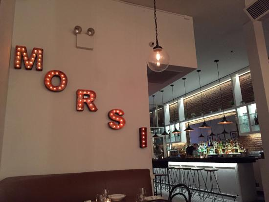Photo of Italian Restaurant Gran Morsi at 22 Warren St, New York City, NY 10007, United States
