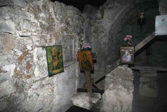 Stavros, Yunanistan: Kirche an der Polis Bucht 21