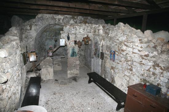 Stavros, Yunanistan: Kirche an der Polis Bucht 19