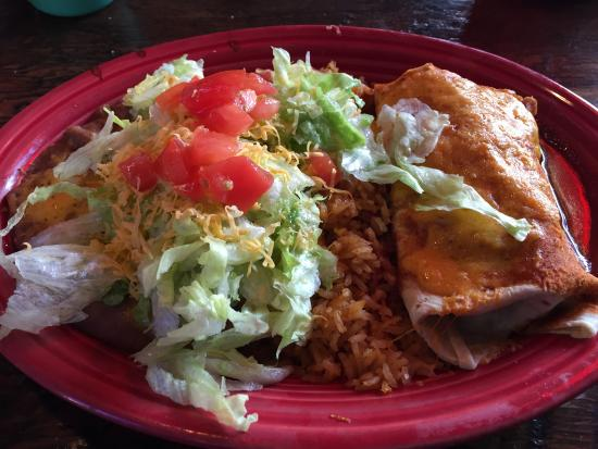 El Charro Mexican Dining: Taco Suave and Pork Burrito