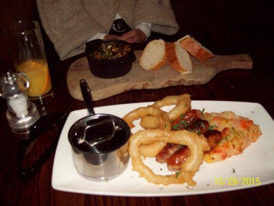 Winkfield, UK: Pork and Leek sausage