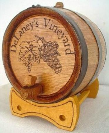 Nevada, MO: Wine barrel made for us