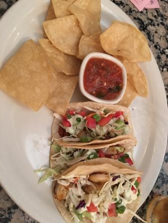 The Faust Brewing Company: Shrimp tacos