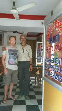 Bharti Massage Center: Me & Raju